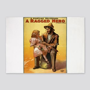 Ragged hero - US Lithograph - 1906 5'x7'Area Rug