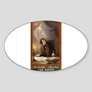 Raven - US Lithograph - 1908 Sticker