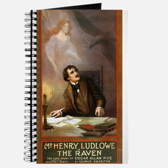 Raven - US Lithograph - 1908 Journal
