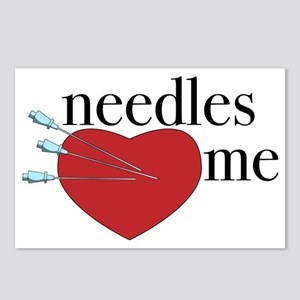 Needles Heart Me Postcards (Package of 8)