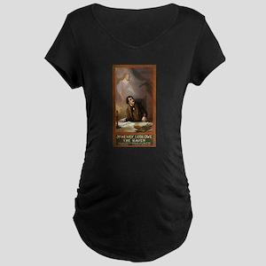 Raven - US Lithograph - 1908 Maternity T-Shirt
