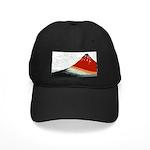 Hokusai Fujisan Black Cap