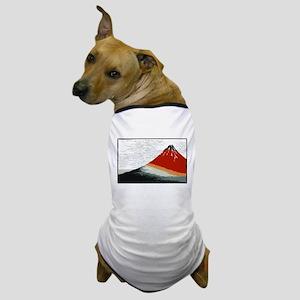 Hokusai Fujisan Dog T-Shirt