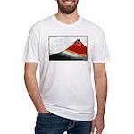 Hokusai Fujisan Fitted T-Shirt