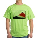 Hokusai Fujisan Green T-Shirt