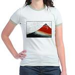 Hokusai Fujisan Jr. Ringer T-Shirt