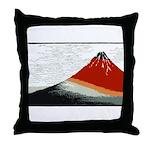Hokusai Fujisan Throw Pillow