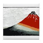Hokusai Fujisan Tile Coaster