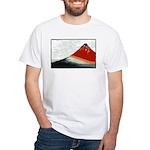 Hokusai Fujisan White T-Shirt