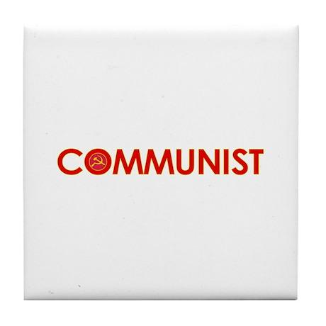 Communist Tile Coaster