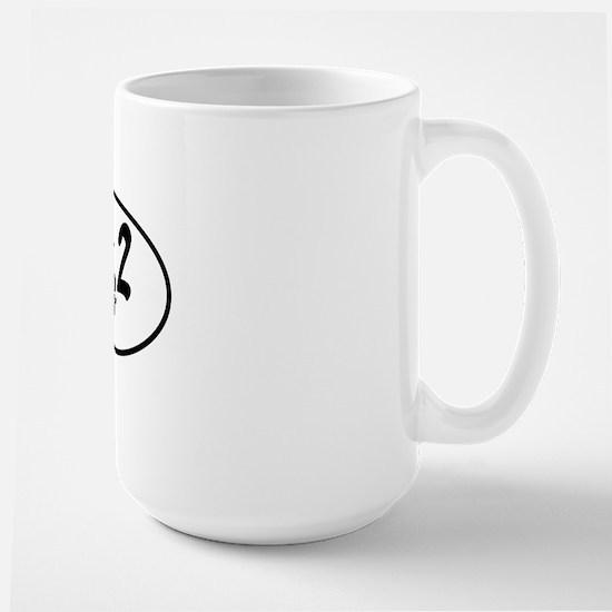 26.2 Marathon Large Mug