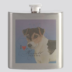 russell terrier Flask