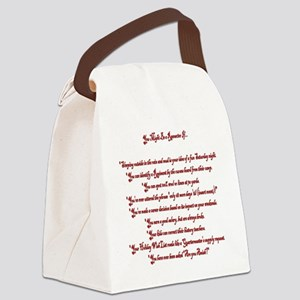 You Might Be a Reenactor If... Canvas Lunch Bag