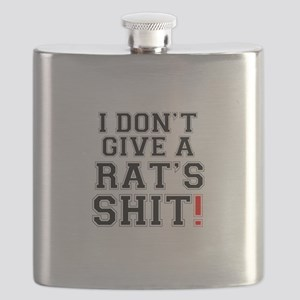 I DONT GIVE A RATS SHIT Flask