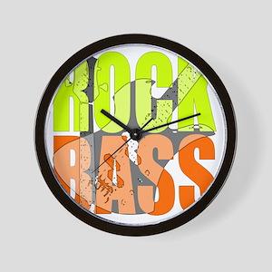 ROCK_BASS Wall Clock