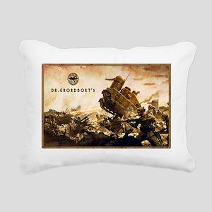 Dr. Grordborts Laptop sk Rectangular Canvas Pillow