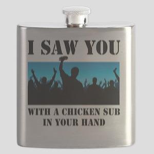 Chicken Sub Blur Flask