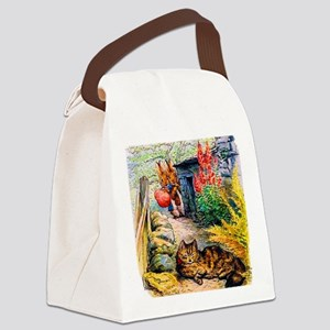 Visitors Canvas Lunch Bag