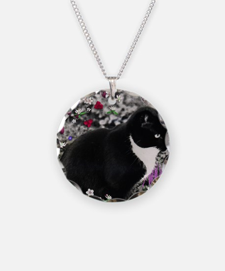 Freckles the Tux Cat in Flow Necklace