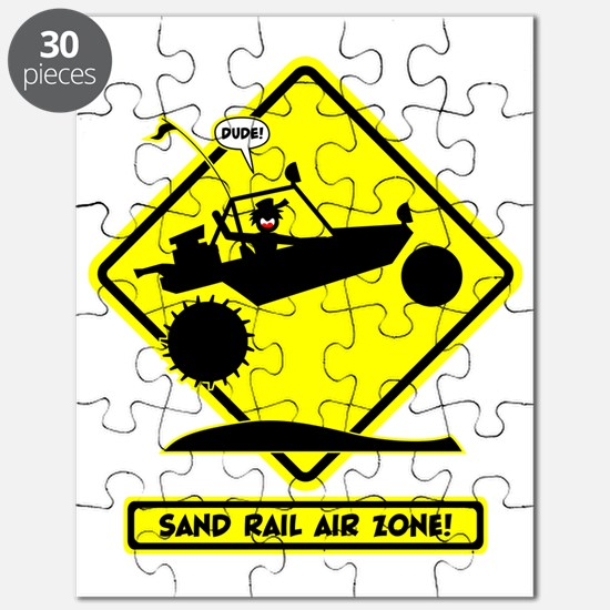 SAND RAIL Jumping Road Signs Puzzle