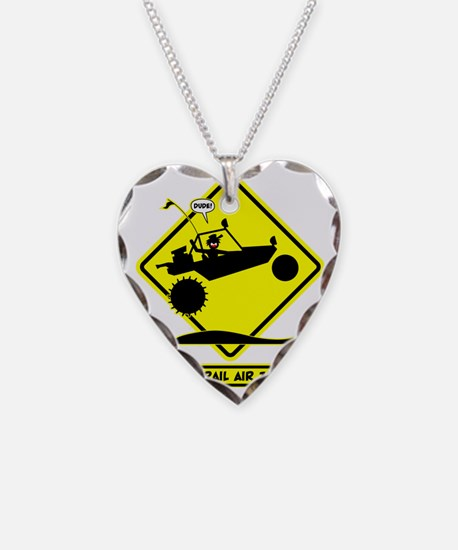 SAND RAIL Jumping Road Signs Necklace