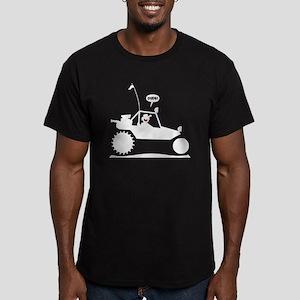 Stickman Sand Rail Whi Men's Fitted T-Shirt (dark)