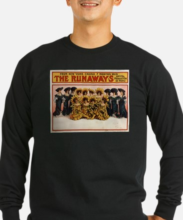 The runaways - US Lithograph - 1908 Long Sleeve T-