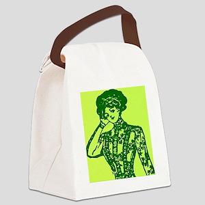Stylin Gal Canvas Lunch Bag