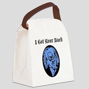 I Got Your Bach (LIGHT BLUE) Canvas Lunch Bag