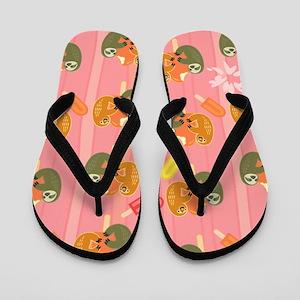 Slothsicle Flip Flops