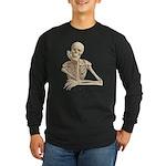 Skeleton Pal Long Sleeve Dark T-Shirt