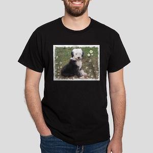 Old English Sheepdog puppy Dark T-Shirt