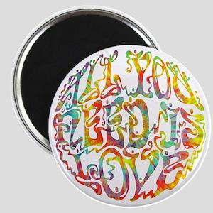 all-need-love-513-tdye-T Magnet
