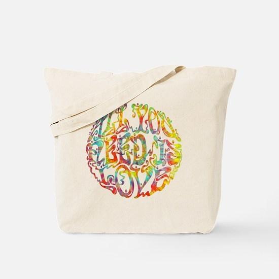 all-need-love-513-tdye-T Tote Bag