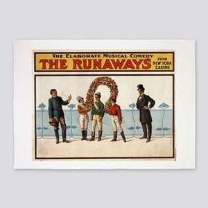 The runaways 2 - US Lithograph - 1908 5'x7'Area Ru