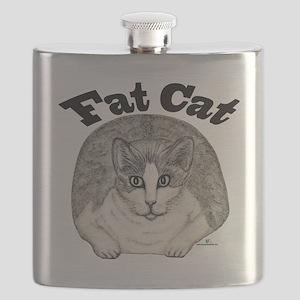 Fat Cat Flask