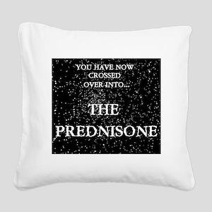 The Prednisone Square Canvas Pillow