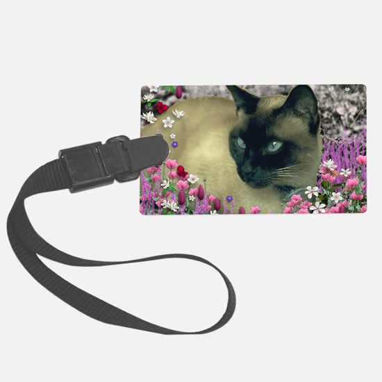 Stella Chocolate Point Siamese F Luggage Tag