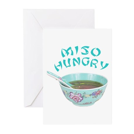 Miso Hungry Greeting Cards (Pk of 10)