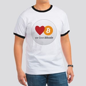 we love bitcoin Ringer T
