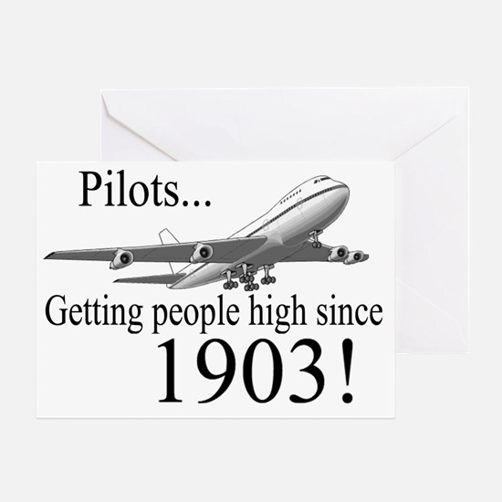Jet Getting high since 1903 Greeting Card