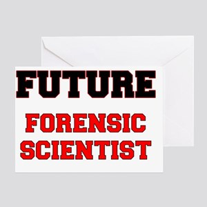 Future Forensic Scientist Greeting Card