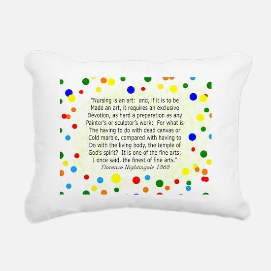 nursing student FG Home  Rectangular Canvas Pillow