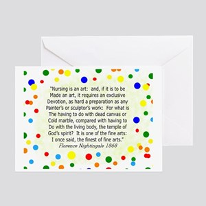 nursing student FG Home products Greeting Card