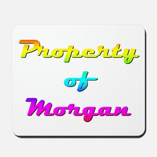 Property Of Morgan Female Mousepad
