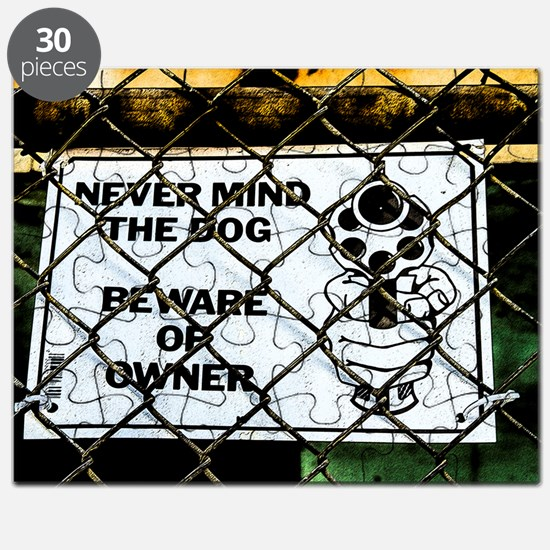 Beware of owner Puzzle