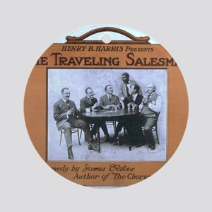 Traveling salesman - US Lithograph - 1908 Round Or
