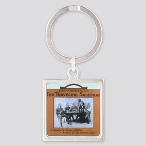 Traveling salesman - US Lithograph - 1908 Keychain