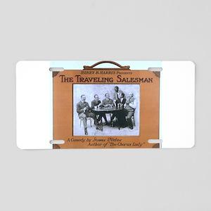 Traveling salesman - US Lithograph - 1908 Aluminum