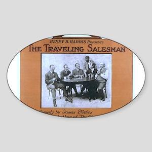 Traveling salesman - US Lithograph - 1908 Sticker
